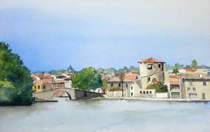 Canal Basin, Castelnaudry, France, SOLD