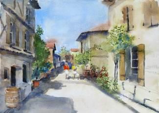 Montflanquin, Lot Valley, France, Sold