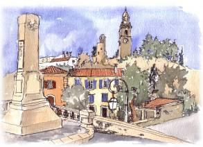 Provence Village, $195 (framed)