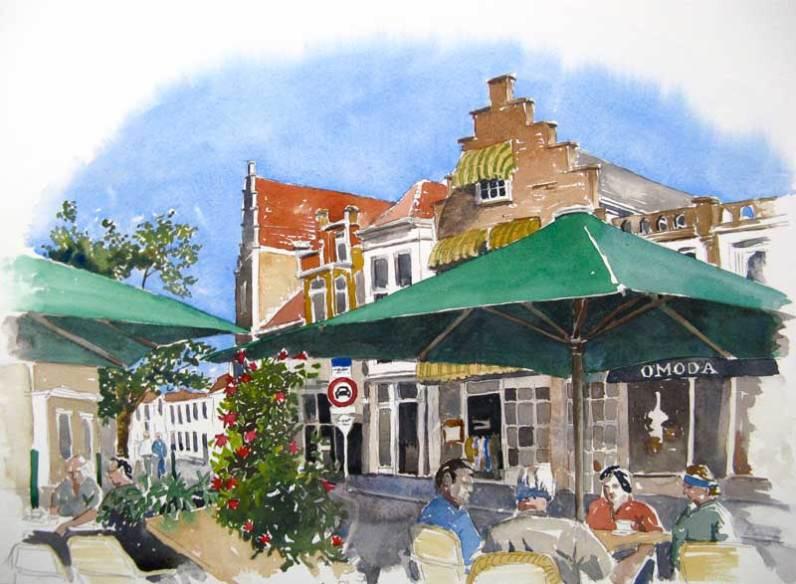 Zierikzee, Netherlands, Sold