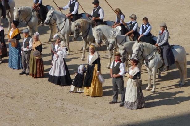 Bull show, Arles