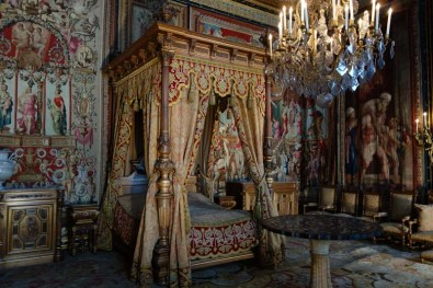 King's bed, Fontainebleau