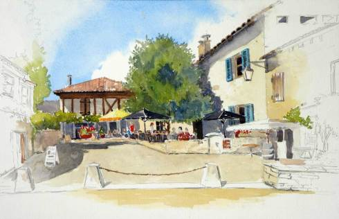 Pujols, Lot Valley, France, Sold