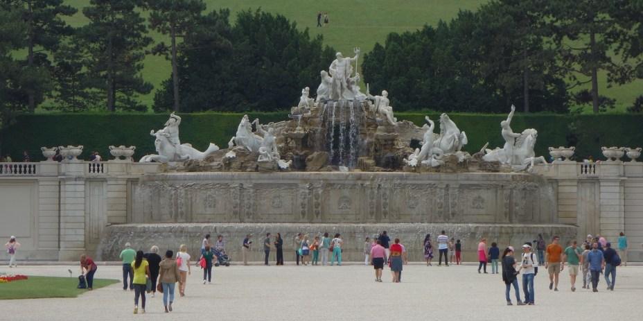The Schonbrunn Fountain
