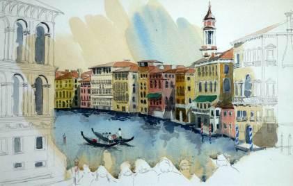 From the Rialto Bridge, Venice, Sold