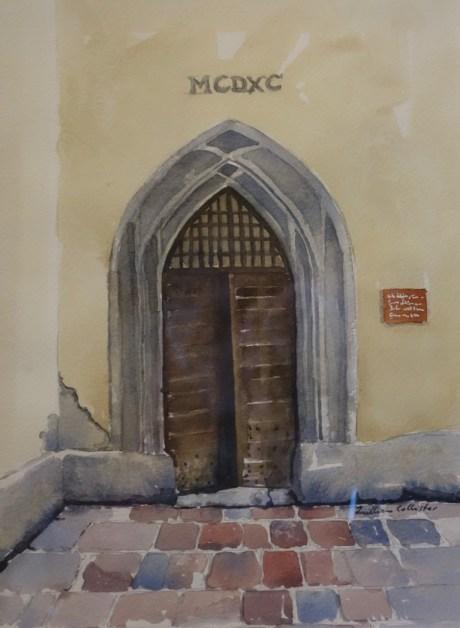 Door, Salzburg Castle, Austria, SOLD