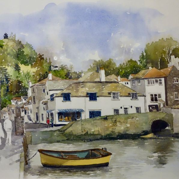 Polperro Harbour, Cornwall SOLD