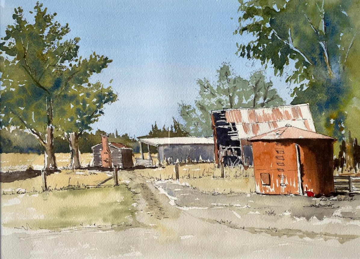 Farmyard near Broomfield