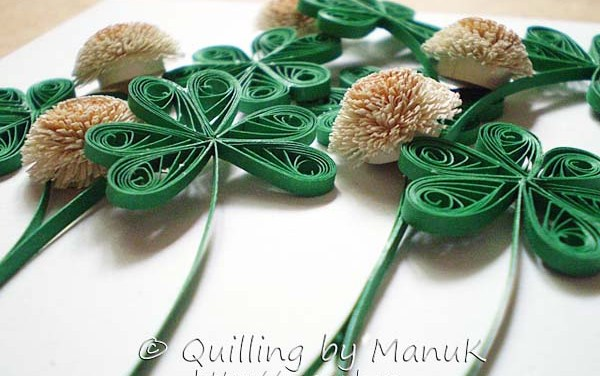 Paper Quilled Clover Tutorial