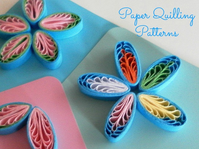 Paper quilling tutorial with comb