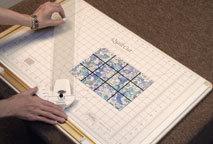 Half-Square Triangle Step 1