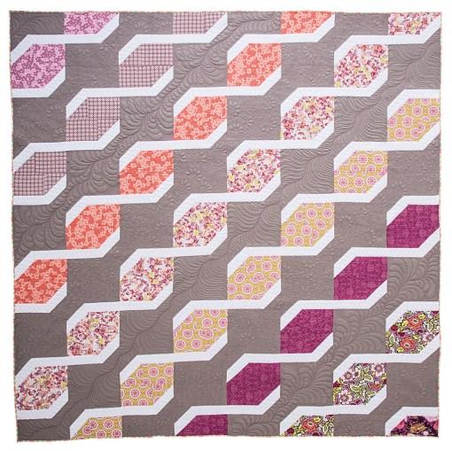 Block Chain Quilt Pattern