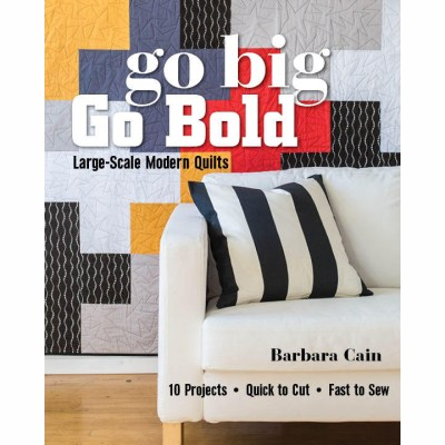 Large Modern Quilts by Barbara Cain