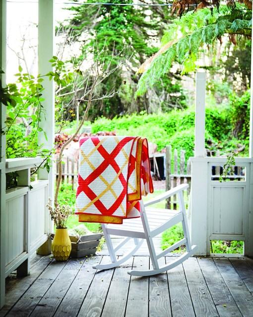 Modern plaid Quilt Pattern