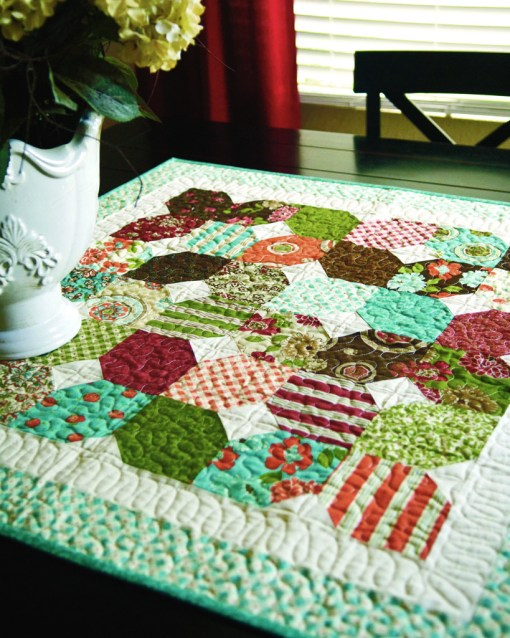Hexagon Quilt Pattern