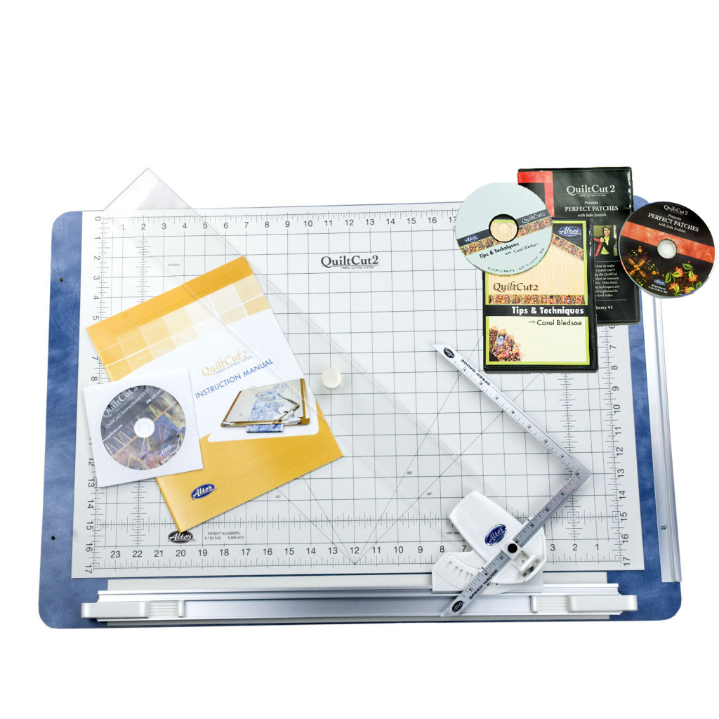 QuiltCut2 Deluxe Kit | QuiltCut2 Fabric Cutting System : quilt cutting system - Adamdwight.com