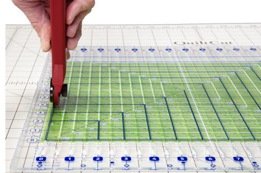 GE2 Green Fabric Cutting