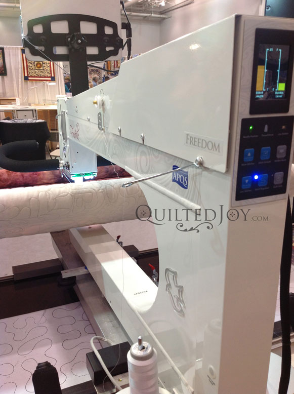 APQS Freedom Long Arm Quilting Machine