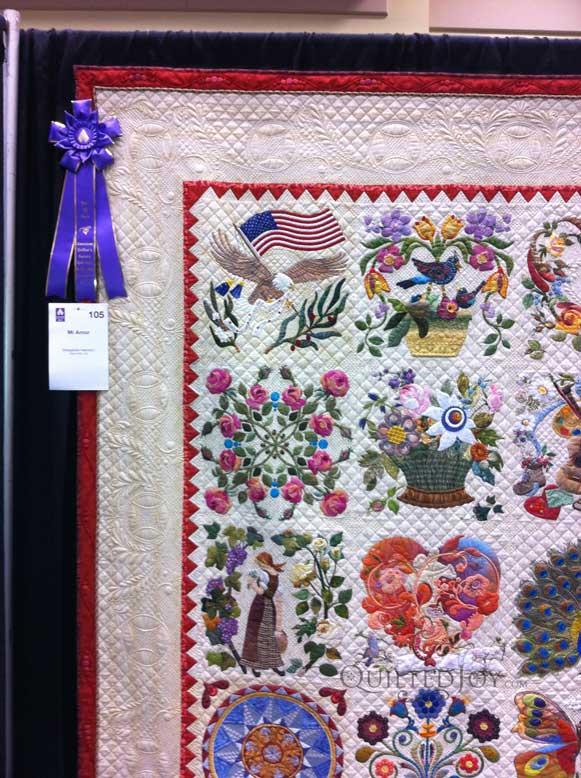 Lancaster, PA Quilt Show Part 2 - : aqs quilt show lancaster - Adamdwight.com
