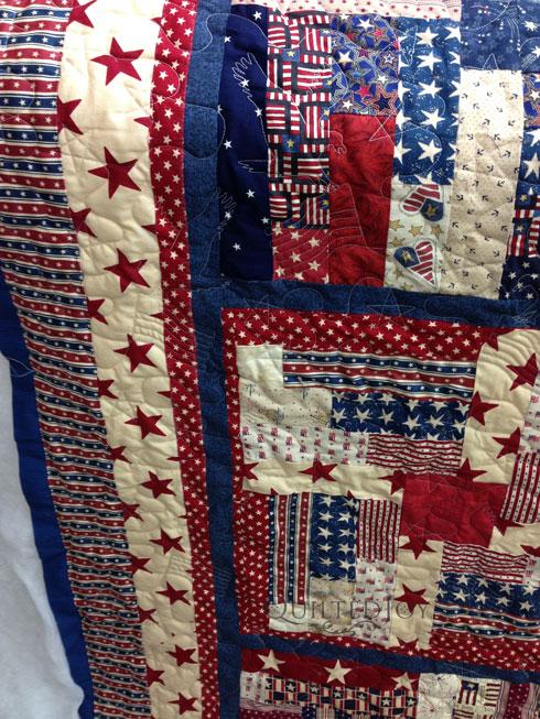 Quilts Of Valor Log Cabin Quilt
