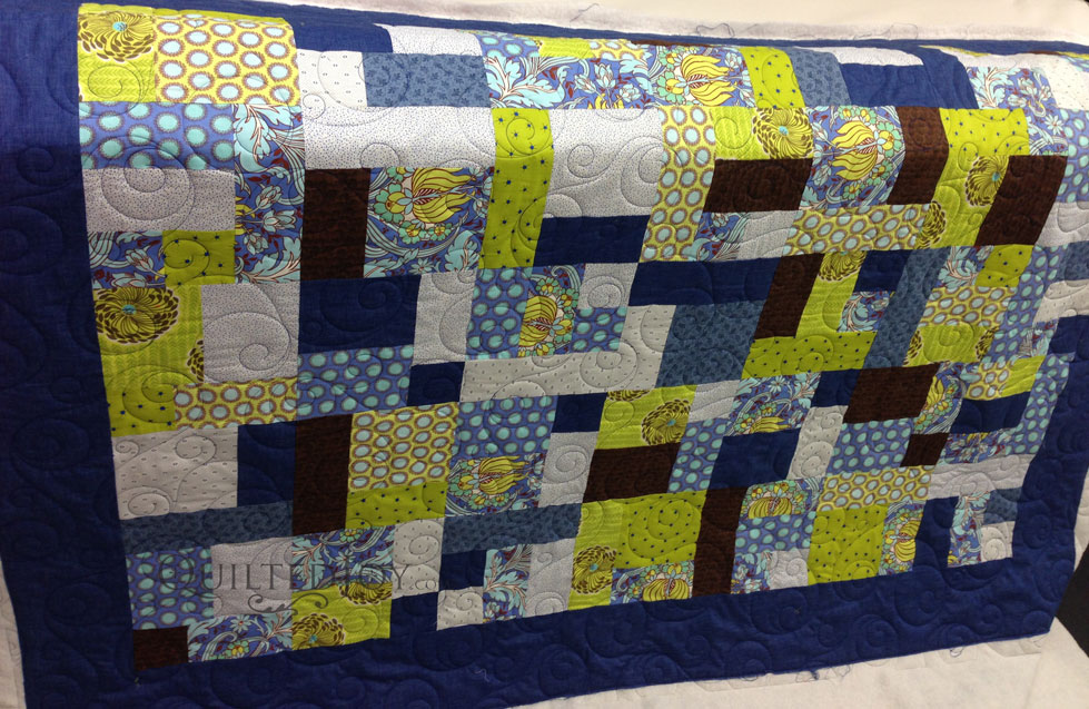 Take 40 Quilt With Curley Bubbles Best Take 5 Quilt Pattern