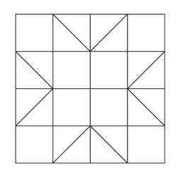 pattern block outlines