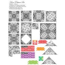 Hera 15 Piece Pattern Set