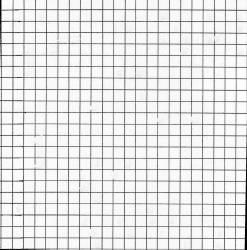 Square 1/2 inch grid stencil