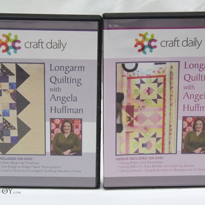 Longarm Quilting with Angela Huffman, now available at Quiltedjoy.com!
