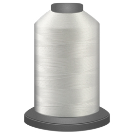 White Glide Thread 10000 5000m cone