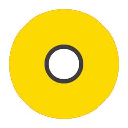 Magna-Glide M Bobbin - Bright Yellow