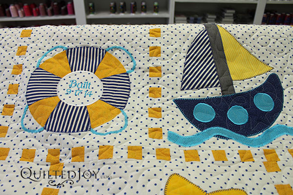 Nautical siblings an applique tutorial knot sew normal