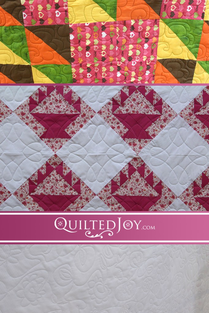 Renters at Quilted Joy always have great ideas, bold choices, and beautiful quilts. Sometimes leaving your comfort zone makes for the best results. QuiltedJoy.com