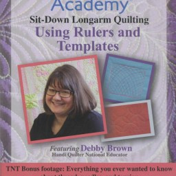 Quilter's Academy DVD Featuring Debby Brown. Volume 3: Using Rulers and Templates.