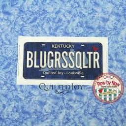 Fabric License Plates