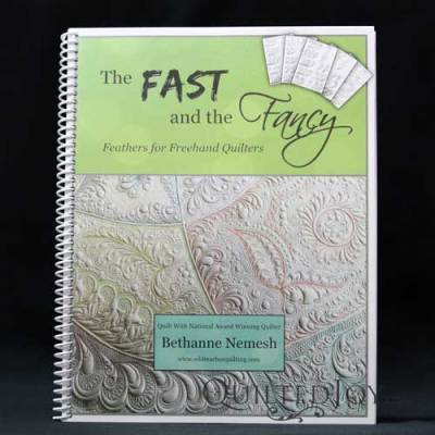The Fast and the Fancy by Bethanne Nemesh. Available at QuiltedJoy.com