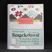 Sampler Quilt Smackdown: Secondary Quilting Designs for all Block Quilts by Bethanne Nemesh. Available at QuiltedJoy.com