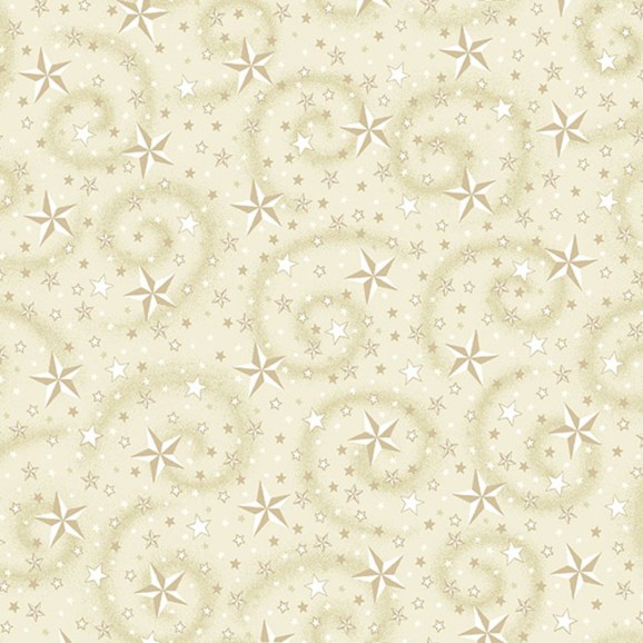 "American Dreams Cream, 108"" wide backing fabric"