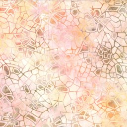 "Wilmington Batiks Crackle Pink/Orange 108"" wide fabric"