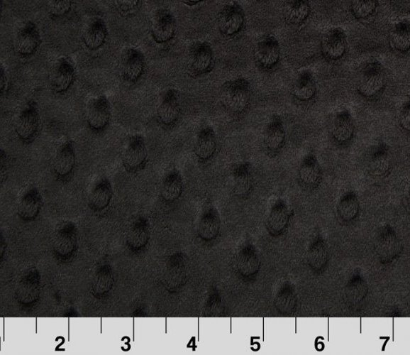 Extra Wide Cuddle Dimple Black from Shannon Fabrics
