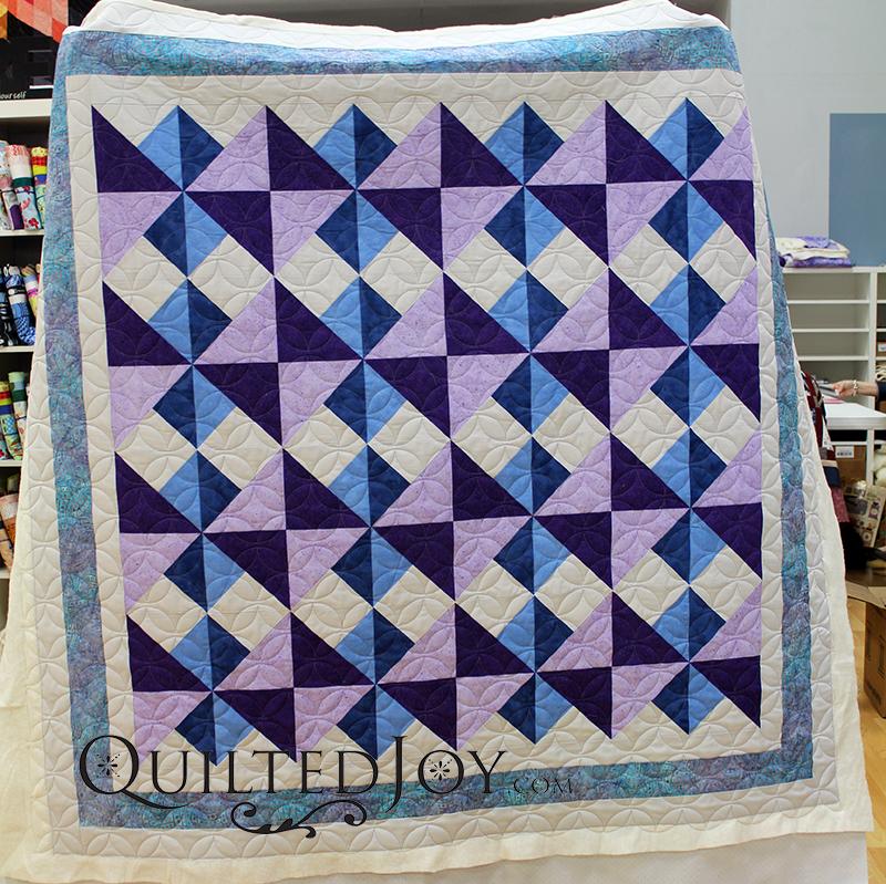 Quarter Square Triangle Quilt