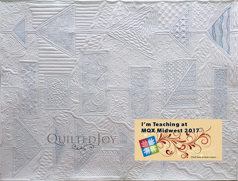 Express Lane to the Modern Quilting Highway Hands On Free Motion Longarm Quilting Class