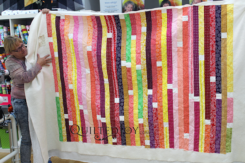 1600 inch Jelly Roll Quilt