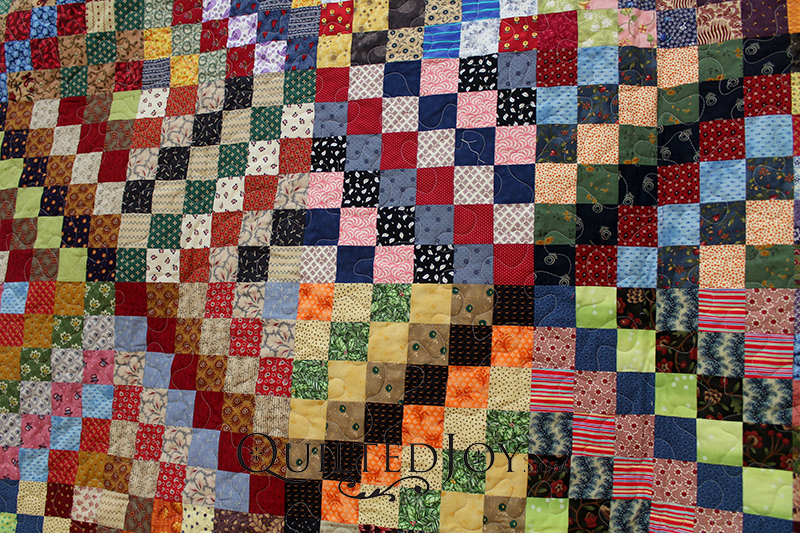 Many Trips Around the World Quilt