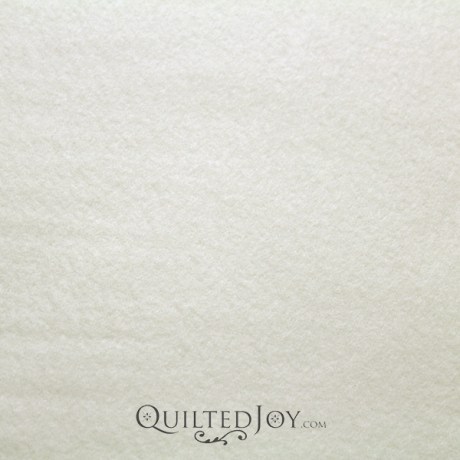 Glacier Solid Ivory Fleece Fabric