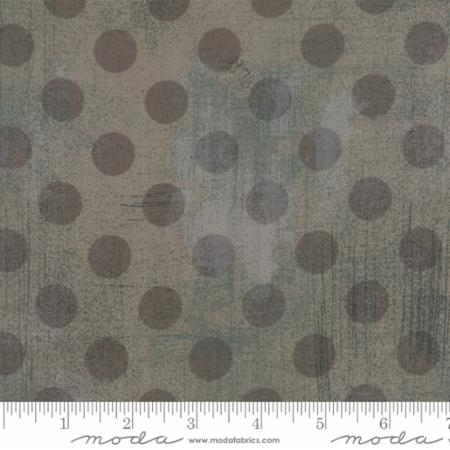 "108"" Grunge Hits the Spot Grey Couture 11131 33. A grey 108"" wide quilt backing fabric, 100% cotton. This fabric would look great on the back of a modern quilt."