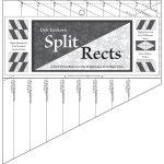 Split Rects quilt piecing ruler by Deb Tucker's Studio 180 Design