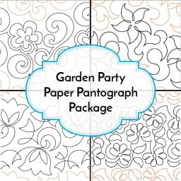 Garden Party Paper Pantograph Package