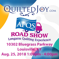 APQS Road Show in Louisville, KY