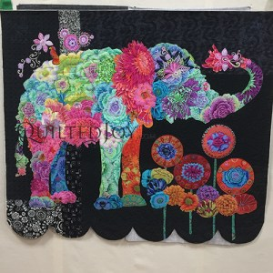 Fabric Collage Animals, quilt class taught by Angela Huffman